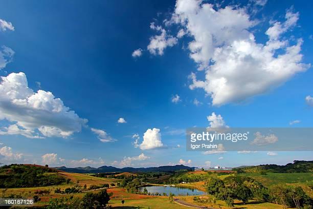 A Lovely Landscape in Khao Yai Thailand
