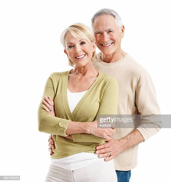 Schöne senior Paar