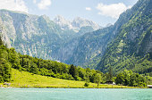 Wounderful view of Königssee, Bavaria