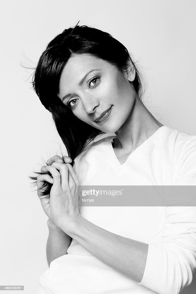 Lovely woman : Bildbanksbilder