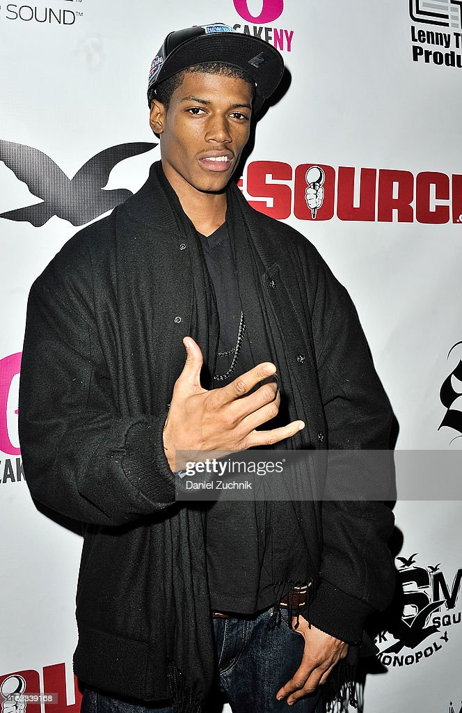Lover Boy TJ attends the Waka Flocka 'Thank You To Hip Hop' Hurricane Sandy Benefit at BB King on February 21, 2013 in New York City.