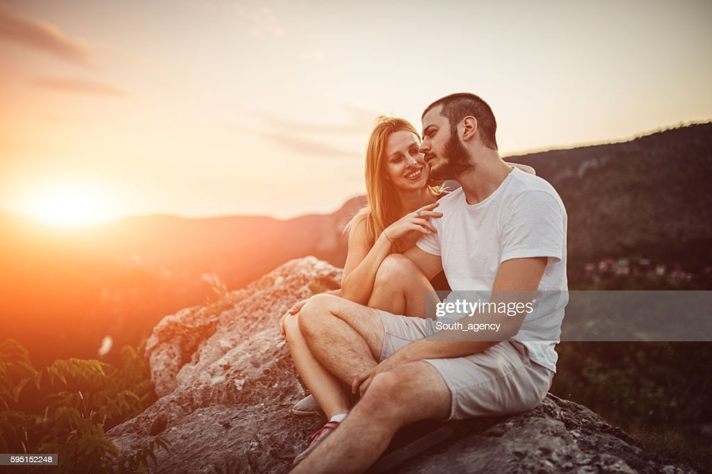 Lovers and nature