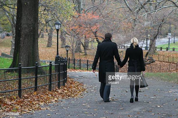 Lovers at Central Park