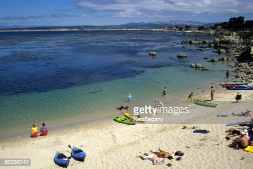 Lover's Point Beach, Monterey, Ca