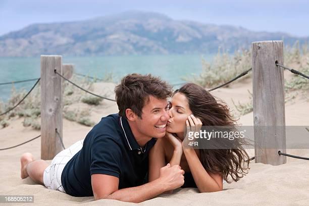 Lovestruck Couple at the Beach (XXXL)