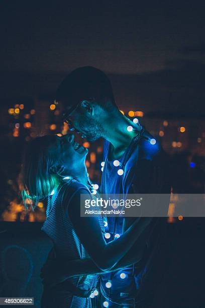 Liebevolle bei Nacht