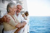 Loving Couple on Cruise Ship