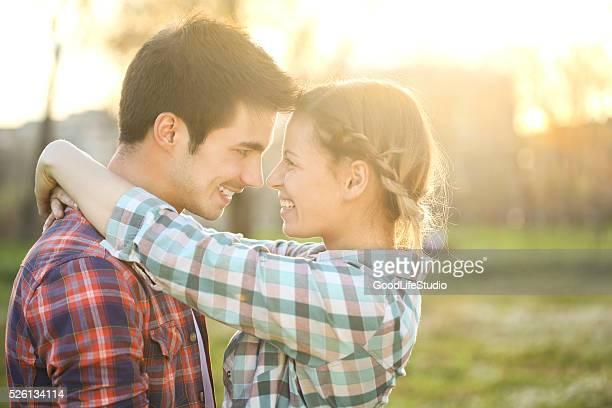 愛するカップル