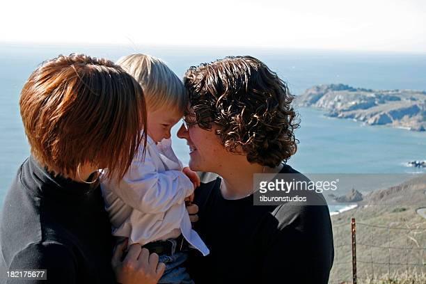 Loving Family of Three