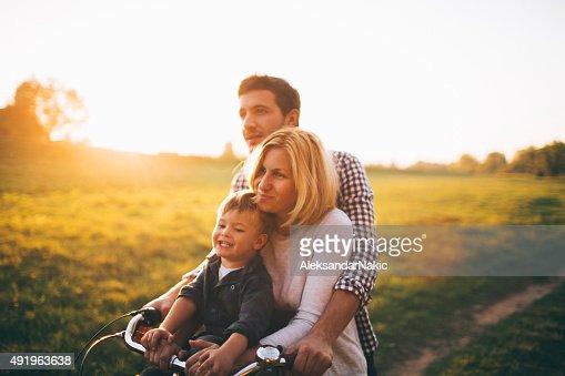 愛するご家族には、自転車