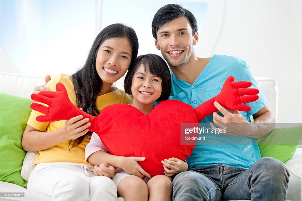 Loving Family : Stock Photo