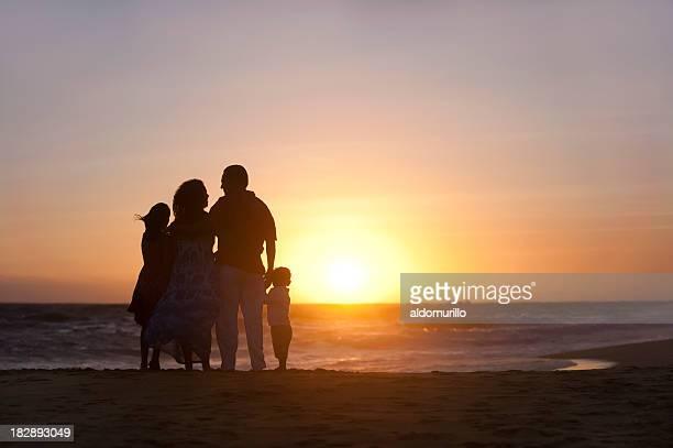 Loving family