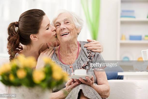 Loving granddaughter