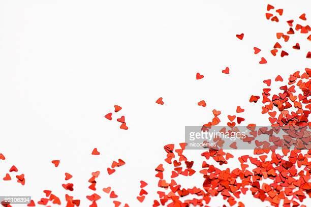 Liebe Herz Konfetti