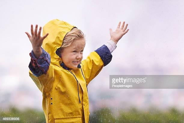 Loving life come rain or shine