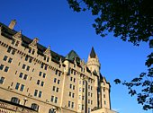 Low Angle Chateau Laurier