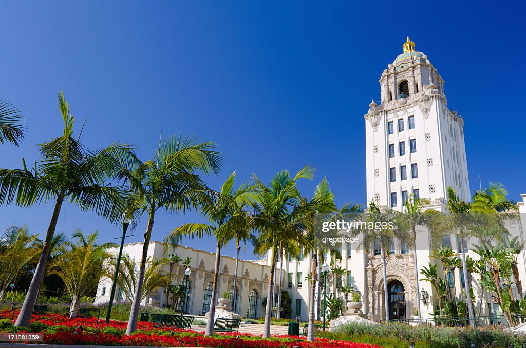 'City Hall in Beverly Hills, CA'