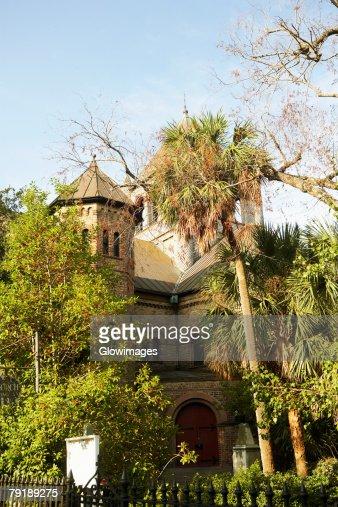 Low angle view of a building, Charleston, South Carolina, USA : Foto de stock