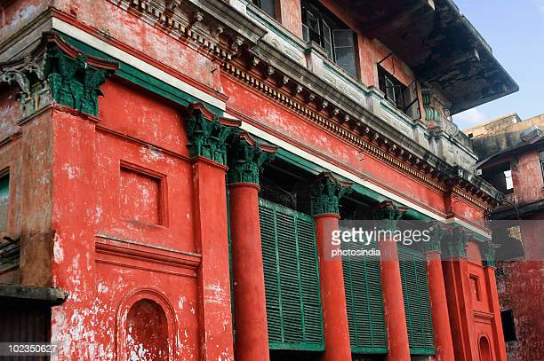 Low angle view of a building, Mallik Ghat, Kolkata, West Bengal, India