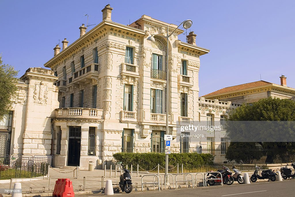Low angle view of a building, Monte Carlo, Monaco : Foto de stock