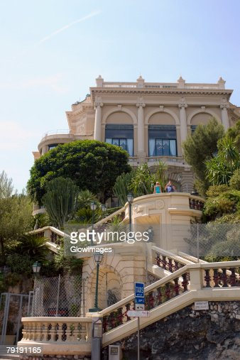 Low angle view of a building, Monte Carlo, Monaco : Foto de stock