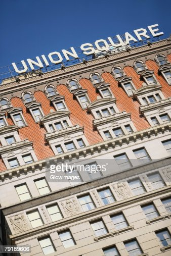 Low angle view of a building, Union Square, New York city, New York State, USA
