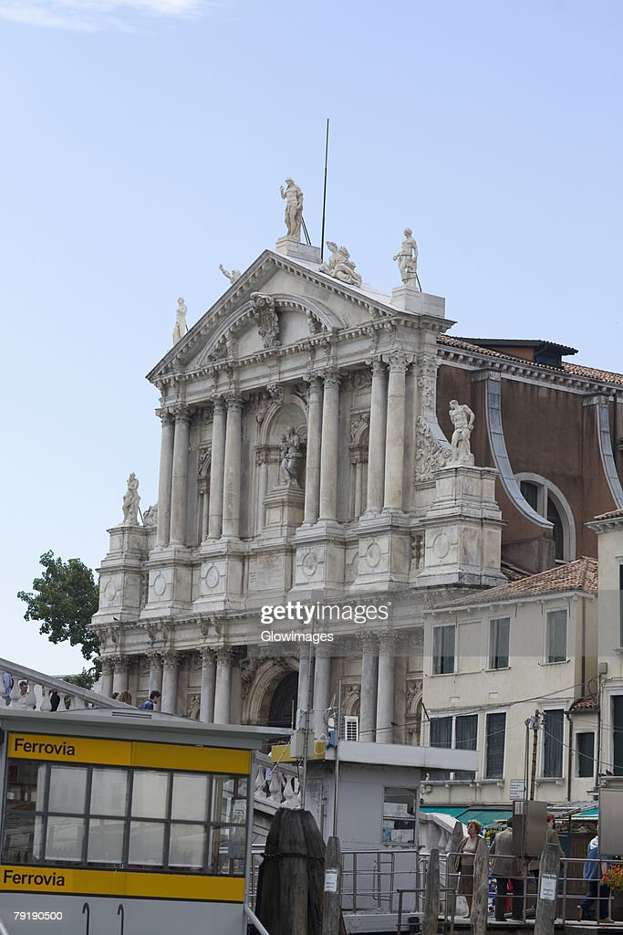 Low angle view of a building, Venice, Italy : Stock Photo