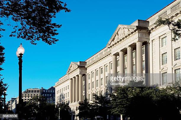 Low angle view of a building, Washington DC, USA