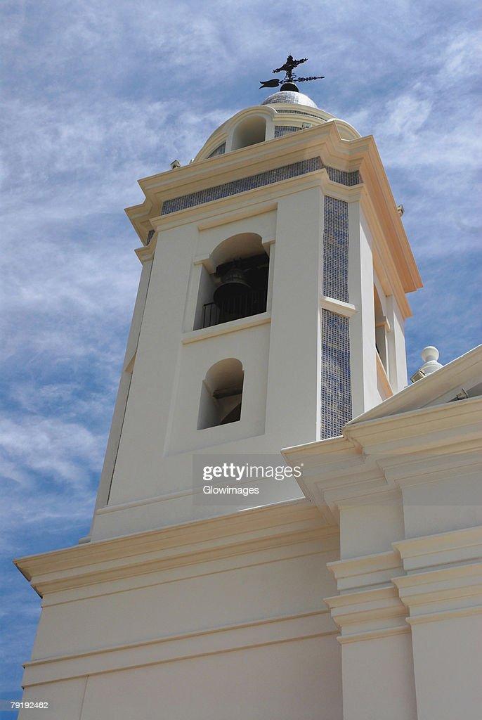 Low angle view of a church, Basilica De Nuestra Senora Del Pilar, Recoleta, Buenos Aires, Argentina : Stock Photo
