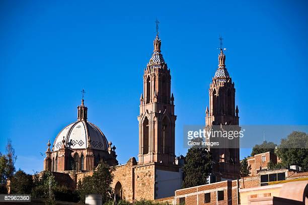 Low angle view of a church, Ex Convento De San Francisco, Zacatecas, Mexico
