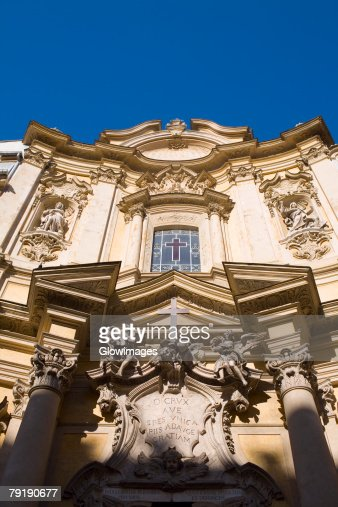 Low angle view of a church, Rome, Italy : Stock Photo