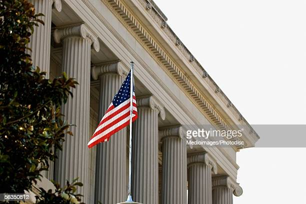 Low angle view of a government building, House of the Temple, Washington DC, USA