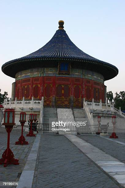 Low angle view of a pagoda, Summer Palace, Beijing, China