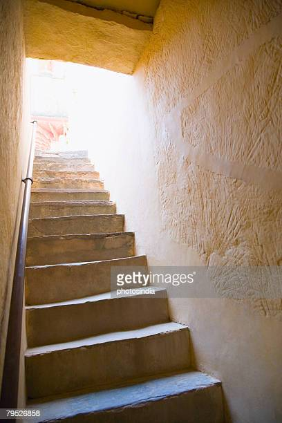 Low angle view of a staircase