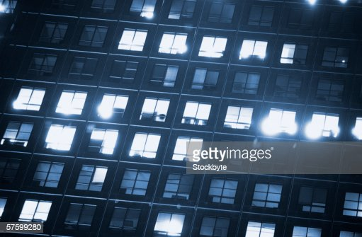 low angle view of an office building : Stock Photo