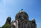 Low angle view of   Berlin cathedral