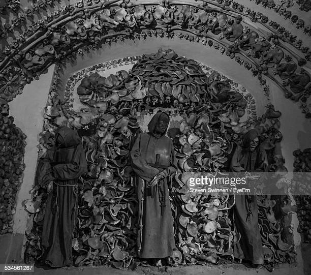 Low Angle View Of Capuchin Crypt