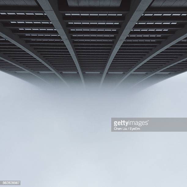Low Angle View Of Chase Tower During Foggy Weather