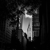 Low Angle View Of Chrysler Building Against Sky In City