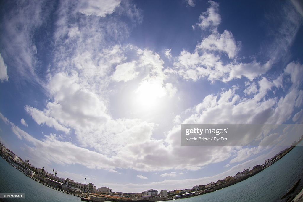Low Angle View Of Cloudy Sky : Photo