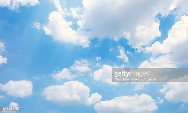 Low Angle View Of Cloudy Sky