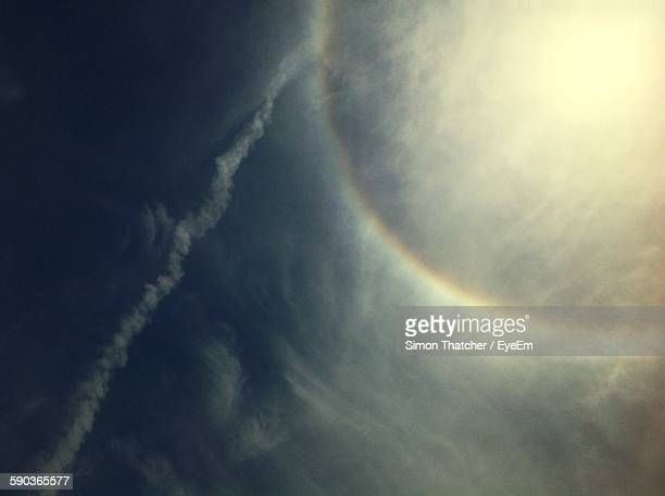 Low Angle View Of Corona In Sky