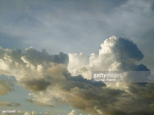 Low Angle View Of Cumulus Clouds In Sky