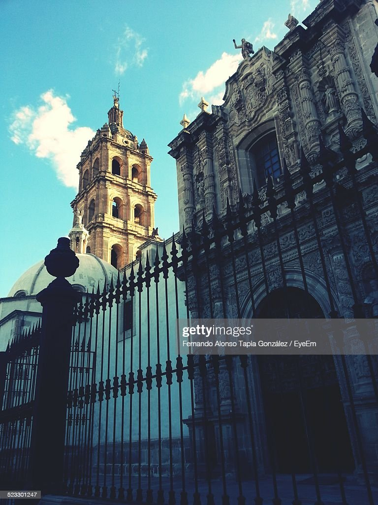 Low Angle View Of Durango Cathedral