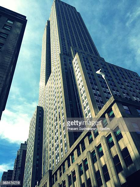 Low Angle View Of Empire State Building