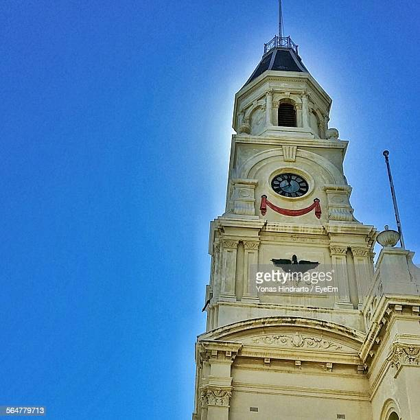 Low Angle View Of Fremantle Town Hall Against Clear Sky