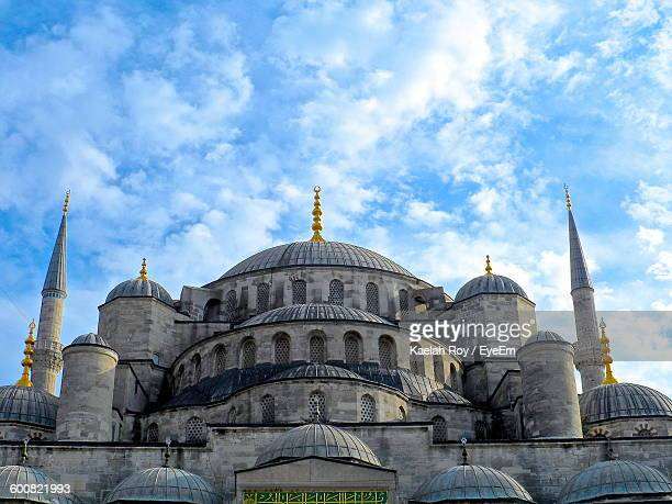 Low Angle View Of Hagia Sophia Against Sky