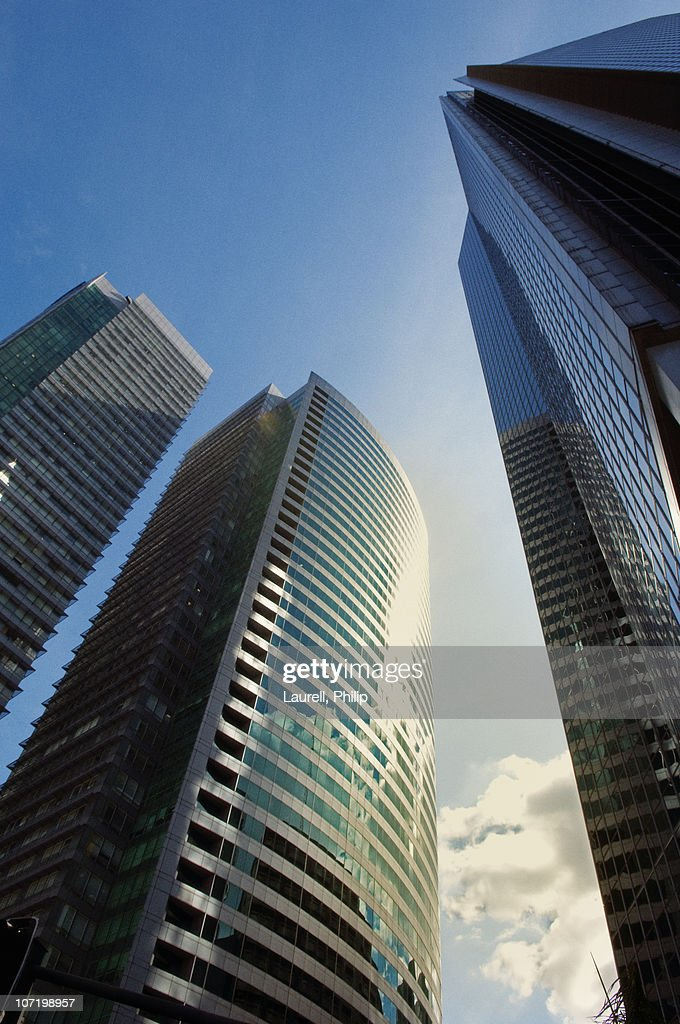 Low Angle Photography Of Building Free Stock Photo: Low Angle View Of Office Building Stock Photo