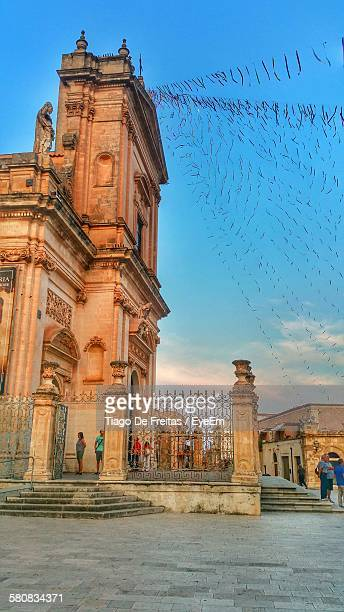 Low Angle View Of Saint Maria Maggiore Church