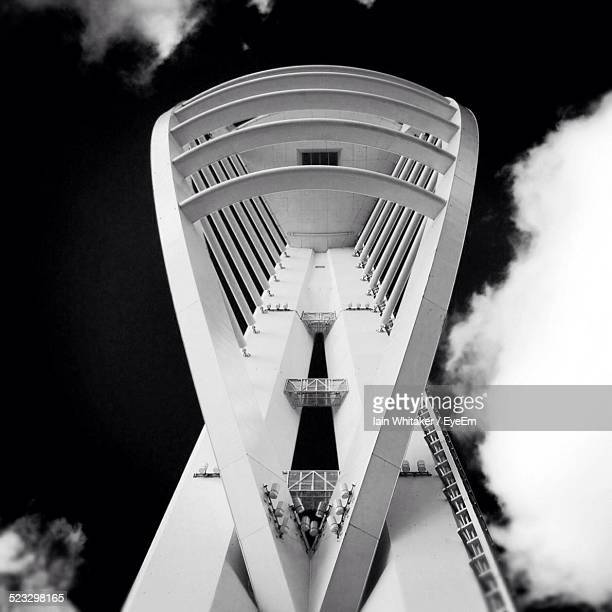 Low Angle View Of Spinnaker Tower Against Sky